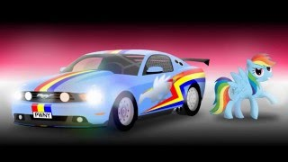 Pony and Cars - 2