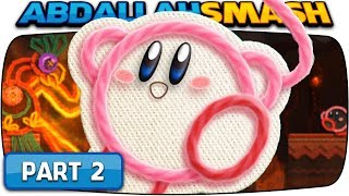 Kirby's Extra Epic Yarn - Part 2:  HOT LAND 100% Walkthrough