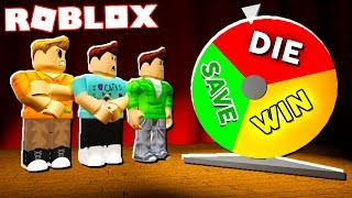 Roblox Adventures - WILL YOU WIN, DIE OR BE SAVED BY LUCK! (Wheel of Fortune)