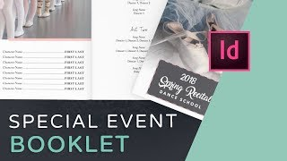 Lets Create An Event Program Booklet In InDesign