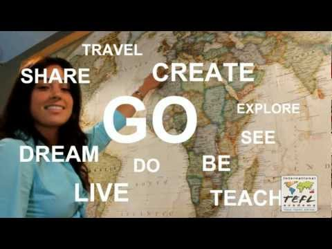 Teach English abroad with a TEFL certification! - YouTube