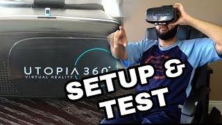 VR HEADSET (Retrak Utopia 360) SETUP AND FIRST IMPRESSIONS!!