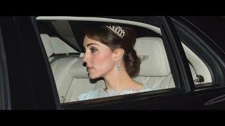 Duchess Kate Wears Dianas Favorite Tiara