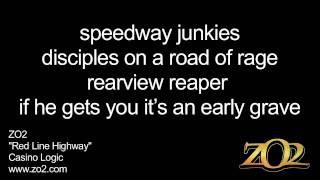 ZO2 - Red Line Highway Lyrics