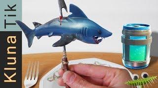 Real life FORTNITE for DINNER! Kluna Tik Dinner | ASMR eating sounds La vida real Echtes Leben