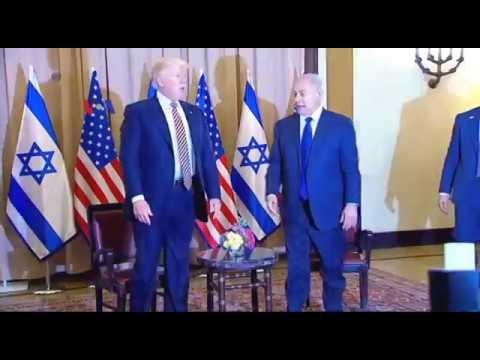 Presiden Trump di Israel Desak Perdamaian dengan Palestina - Liputan Berita VOA