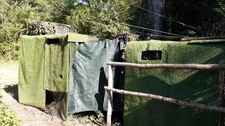 palombe.org Re-habillage de la palombière N°2