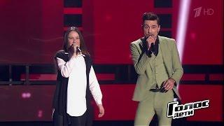 Дима Билан исполнил мечту участницы проекта - Слепые прослушивания - Голос Дети - Сезон 4