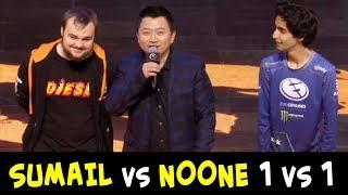 SumaiL vs Noone 1 vs 1 WTF 200 IQ strat — mid Shadow Fiends
