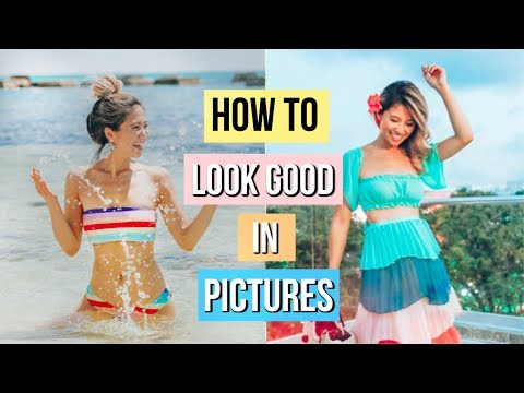 How to Pose for Vacation Pictures! 📷 12 Photography Hacks and Tricks!
