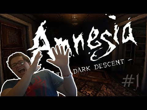 Scariest game i've played in a while/Amnesia:The Dark Decent #1