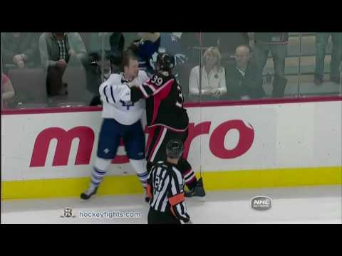 Matt Carkner vs. Colton Orr