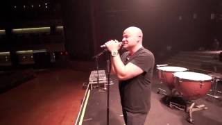 Disturbed On Tour David Warms Up