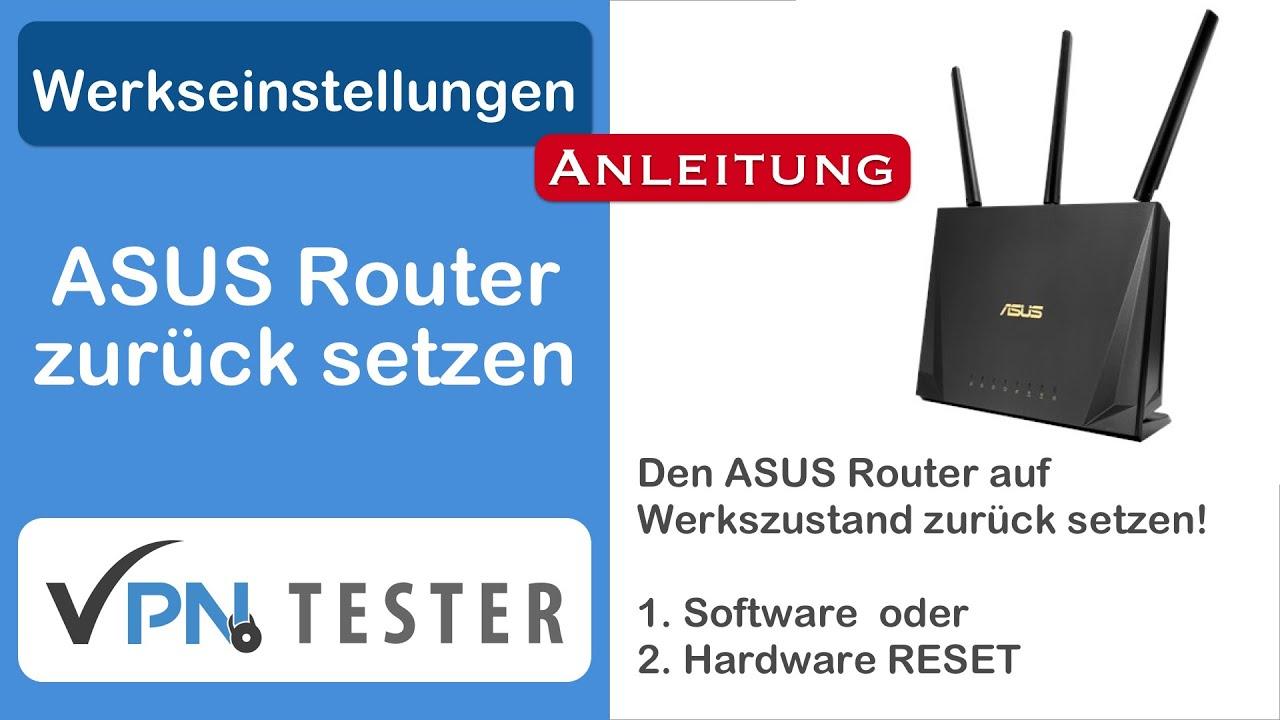 """Anleitung: Router auf Werkszustand zurücksetzen der """"30-30-30 Hard-Reset"""" 1"""