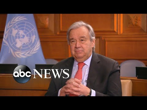 UN secretary general: 'We need a global vaccination plan'