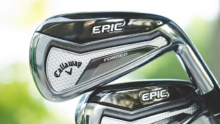 Epic Forged Irons: Ultra-Premium Forged Performance