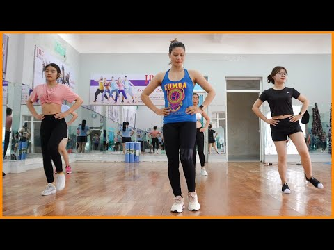 The Best 20 Minute Beginner Workout   Aerobic Reduction of Belly Fat Quickly   Zumba Class