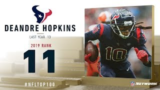 #11: DeAndre Hopkins (WR, Texans) | Top 100 Players of 2019 | NFL