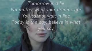 Lara Fabian - Tomorrow is a Lie [Lyrics]