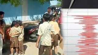 Gempa 5,3 SR Dirasakan Kuat di Lombok dan Mataram, Sebagian Siswa SD Dipulangkan Lebih Awal