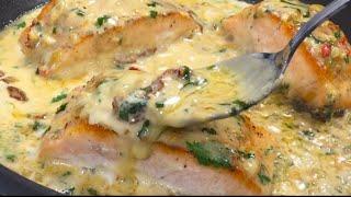 Creamy Tuscan Salmon | 20 minutes Dinner