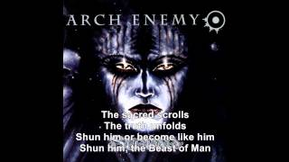 Beast of Man - Arch Enemy Lyrics (Stigmata 1998)