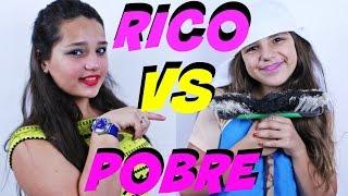 RICO VS POBRE | TURMA LELE MAGALI