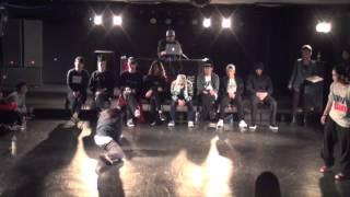 EMI (MOMOEMI)  vs MAiKA FINAL / DANCE@LIVE HIPHOP KANSAI HIGH SCHOOL 2015