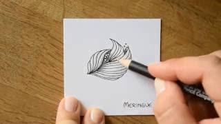10 Zentangle® Pattern Time-Lapse - #13