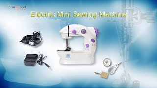 Mesin Jahit Portable Mini Sewing Machine - Putih