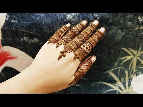 Download Diwali Special Mehndi Design 4 2018 Heena Vahid By