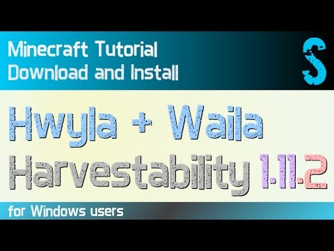 HWYLA MOD and WAILA HARVESTABILITY MOD 1.11.2 minecraft - how to download and install (with forge)