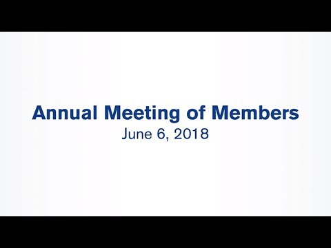 2018 Annual Meeting of Members