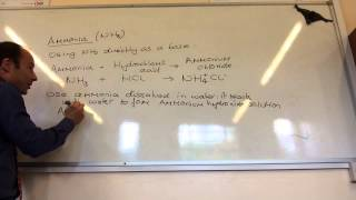 Ammonia And Ionic Equations For Neutralisation