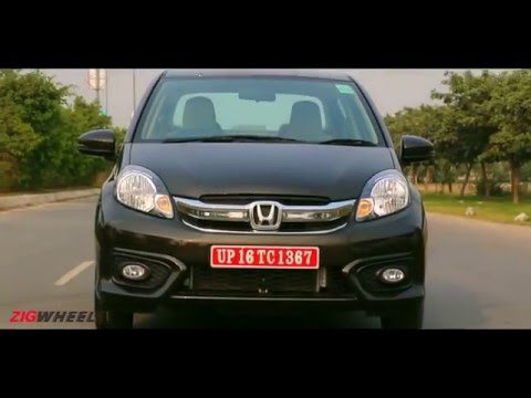 2016 Honda Amaze :: Walkaround Video review :: ZigWheels India