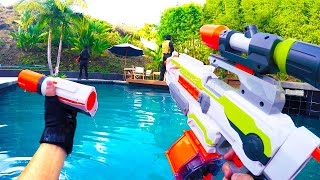 Nerf War: First Person Shooter 7 (feat. Donald Trump and Hillary Clinton)