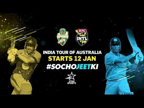 India's Tour of Australia - #SochoJeetKi!