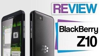 BlackBerry Z10 Review - Smartphone Test - deutsch/german