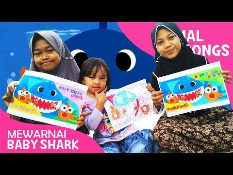 Mewarnai Baby Shark Coloring Baby Shark