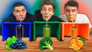 GUESS THE JUICE CHALLENGE !