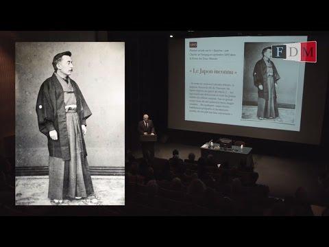 Conférence sur la naissance du Judo donnée à la Maison de la Culture du Japon à Paris à l'occasion de la célébration des 70 ans de la fondation de la FFJDA.