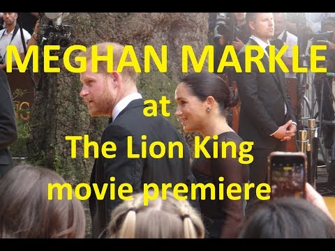 MOVIE: Meghan Markle back to the red carpet after giving birth to Archie
