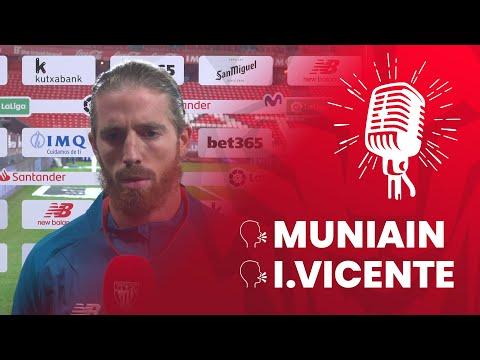 🎙 Iker Muniain & I. Vicente | post Athletic Club 0-1 Cádiz CF | J4 LaLiga 2020-21