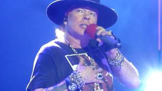 "Guns n' Roses ""Patience"" Minneapolis,Mn 7/30/17 HD"