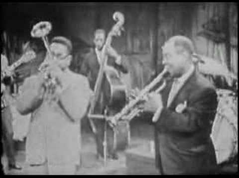 Dizzy Gillespie & Louis Armstrong - Umbrella Man online metal music video by DIZZY GILLESPIE