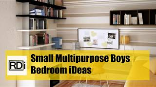 Modern Boys Bedroom IDeas For Small Rooms - 2018