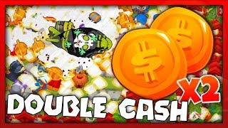 Bloons Tower Defense 6 - DOUBLE CASH FOREVER!! Bloons TD 6 Achievements & Monkey Knowledge!