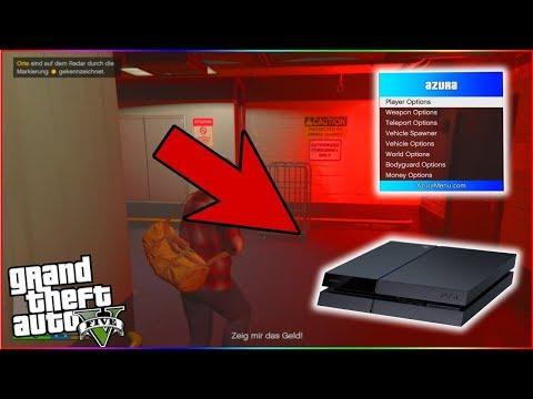 PS4 Azura 1 1 GTA V Mod Menu - смотреть онлайн на Hah Life