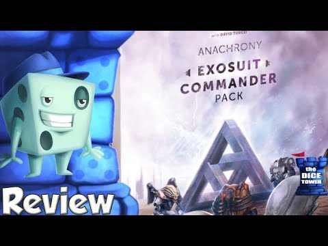 Anachrony: Exosuit Commander Pack Review - with Tom Vasel