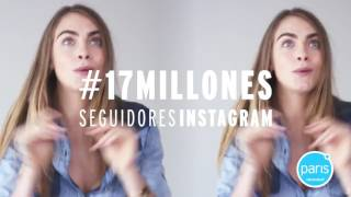 Кара Делевинь и рекламная кампания Tiendas Paris 2015